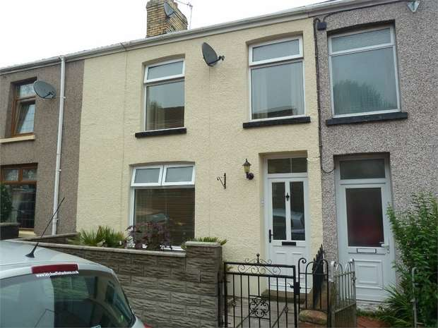 4 Bedrooms Terraced House for sale in Morris Street, Maesteg, Maesteg, Mid Glamorgan