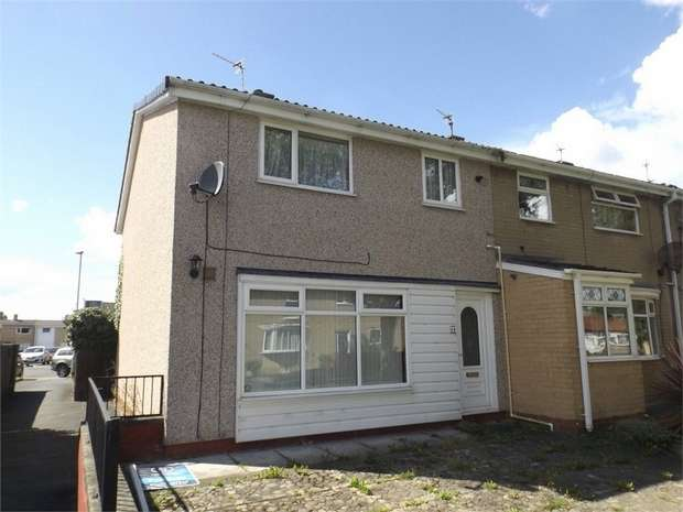 3 Bedrooms End Of Terrace House for sale in St Aidans Walk, Newton Aycliffe, Durham