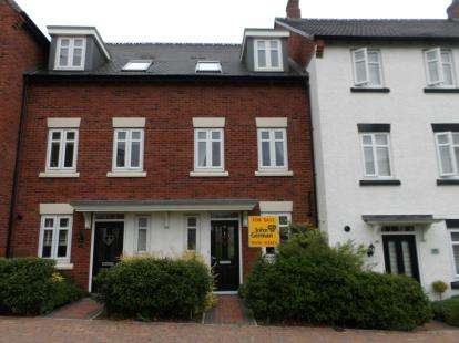 3 Bedrooms Terraced House for sale in Dunbar Way, Ashby-De-La-Zouch