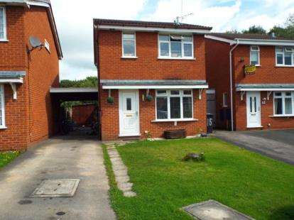 3 Bedrooms Detached House for sale in Padstow Close, Crewe, Cheshire