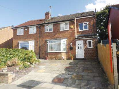 4 Bedrooms Semi Detached House for sale in Garthland Road, Hazel Grove, Stockport, Greater Manchester