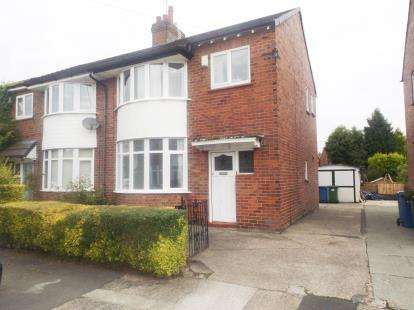 3 Bedrooms Semi Detached House for sale in Cruttenden Road, Great Moor, Stockport, Cheshire