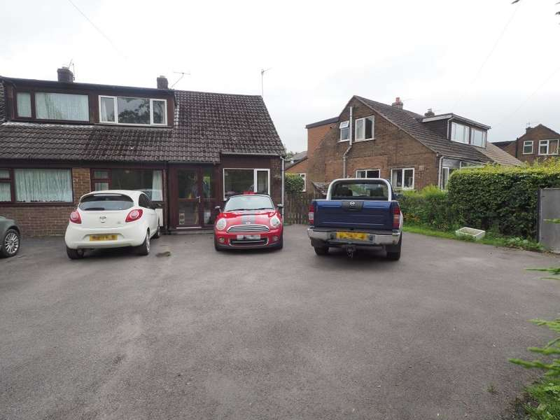 4 Bedrooms Semi Detached House for sale in Laneside Close, Chapel-en-le-Frith, High Peak, SK23 0TS