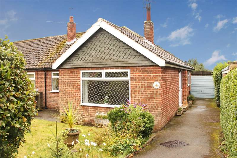 2 Bedrooms Semi Detached House for sale in Moorland Close, Harrogate, HG2 7EY