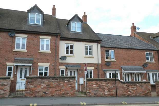 3 Bedrooms Terraced House for sale in The Smithfields, NEWPORT, Shropshire