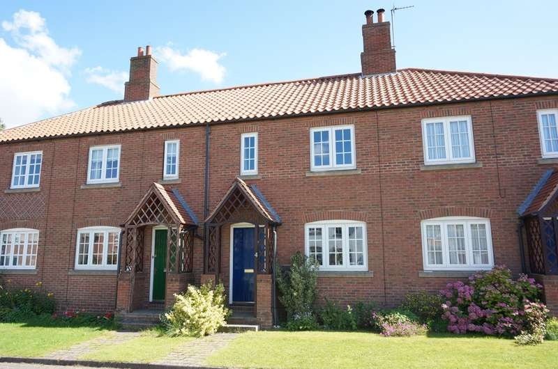2 Bedrooms Terraced House for sale in Manor Chase, Long Marston, York