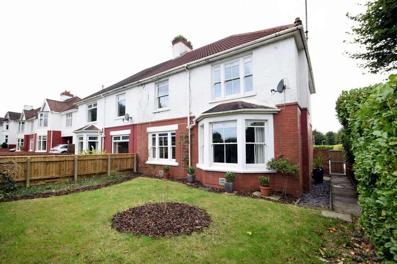 4 Bedrooms Semi Detached House for sale in 58 Ewenny Road, Bridgend, Bridgend County Borough, CF31 3HU.