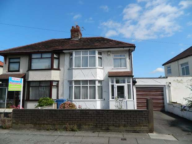 3 Bedrooms Semi Detached House for sale in Eaton Road, West Derby, Liverpool, L12