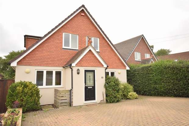 4 Bedrooms Detached House for sale in 29 Hillingdon Avenue, SEVENOAKS, Kent