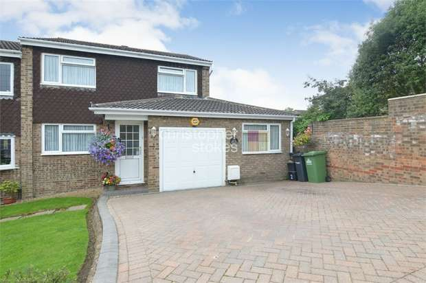 5 Bedrooms Semi Detached House for sale in Spicersfield, Cheshunt, Hertfordshire
