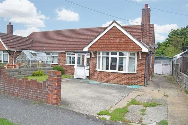 2 Bedrooms Semi Detached Bungalow for sale in Mayes Lane, Ramsey, Harwich, Essex