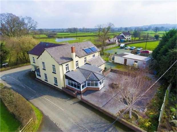 7 Bedrooms Detached House for sale in Melverley, Oswestry, Shropshire