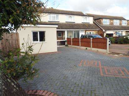 3 Bedrooms Semi Detached House for sale in Bulphan, Upminster, Essex