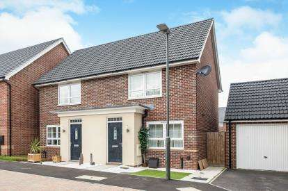 2 Bedrooms Semi Detached House for sale in Meerbrook Way, Quedgeley, Gloucester, Gloucestershire