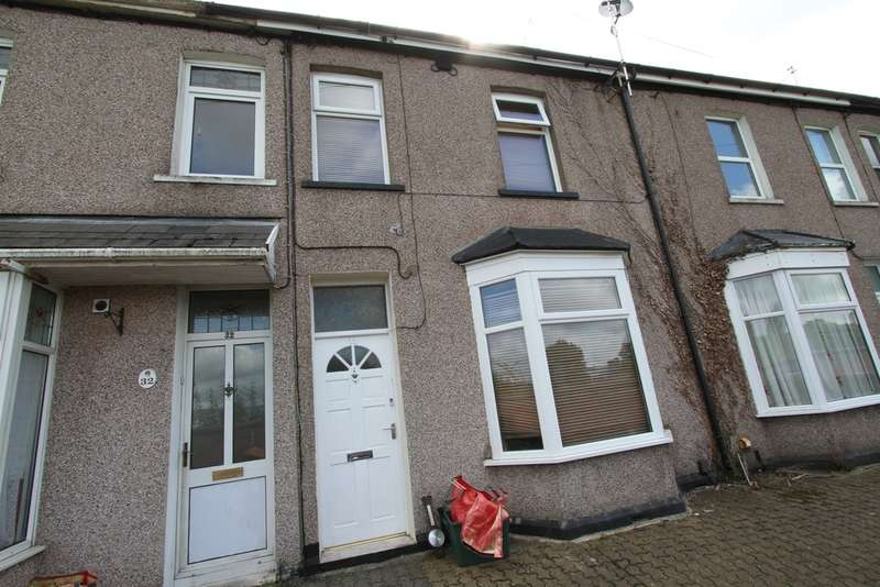2 Bedrooms Terraced House for sale in Riverside Crescent, Newport