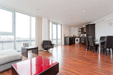 2 Bedrooms Flat for sale in Fairfield Road, London E3