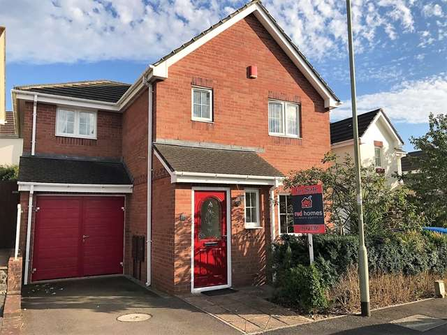 4 Bedrooms Detached House for sale in Crosscut Way, Honiton