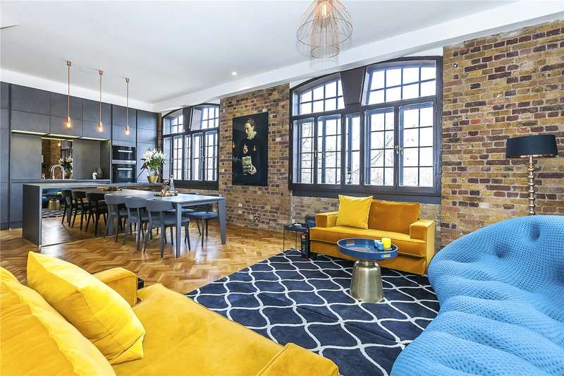 2 Bedrooms Flat for sale in Telfords Yard, Wapping, London, E1W