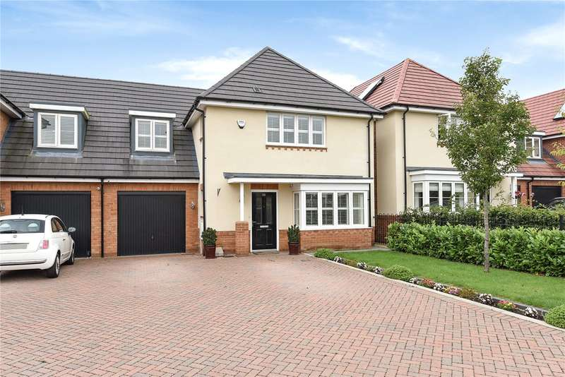 4 Bedrooms Link Detached House for sale in Burbridge Road, Leavesden, Watford, WD25