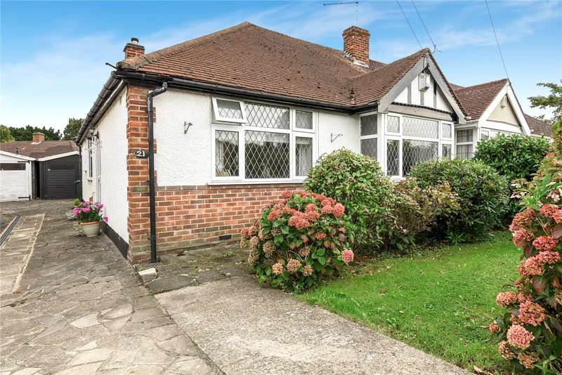 2 Bedrooms Semi Detached Bungalow for sale in Roxburn Way, Ruislip, Middlesex, HA4