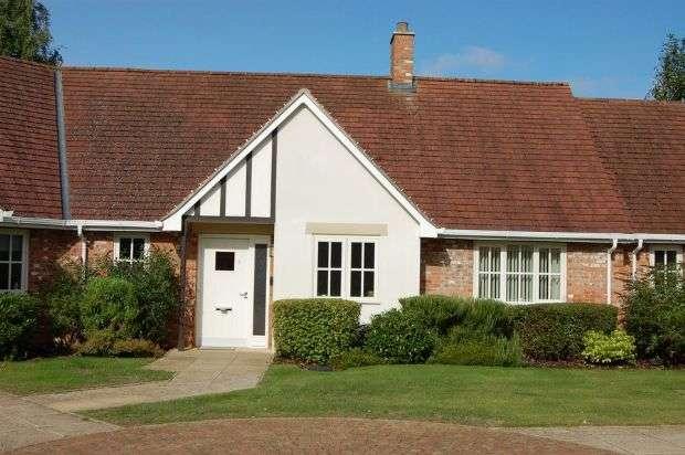 2 Bedrooms Terraced Bungalow for sale in Brampton Cottages, Brampton Valley Lane, Chapel Brampton, Northampton NN6 8GA