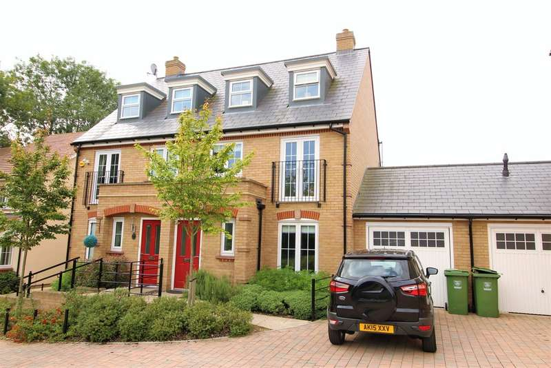 4 Bedrooms Town House for sale in Britannia Close, Hemel Hempstead