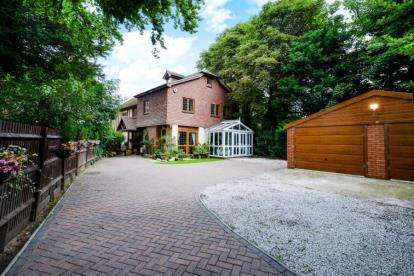5 Bedrooms Detached House for sale in Asprey Place, Chislehurst Road, Bromley