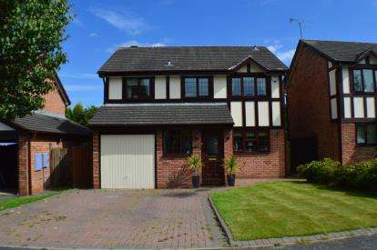 4 Bedrooms Detached House for sale in Hazel Drive, Armitage, Staffordshire