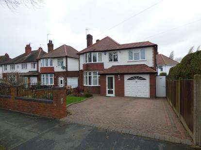 4 Bedrooms Detached House for sale in Walstead Road, Walsall, West Midlands