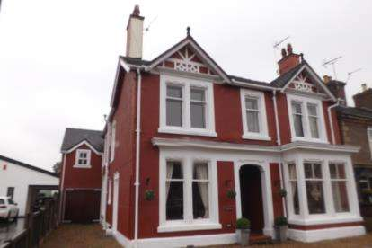 4 Bedrooms Detached House for sale in Crewe Road, Alsager, Cheshire