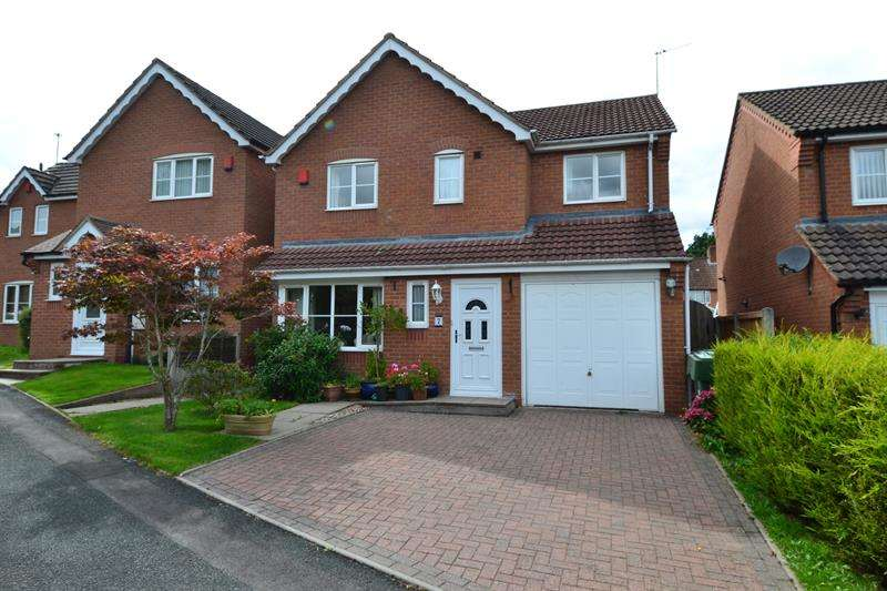 4 Bedrooms Detached House for sale in Chapelfield Mews, Rubery, BIRMINGHAM