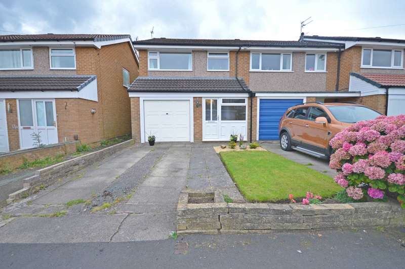 3 Bedrooms Semi Detached House for sale in Dawlish Close, Bramhall