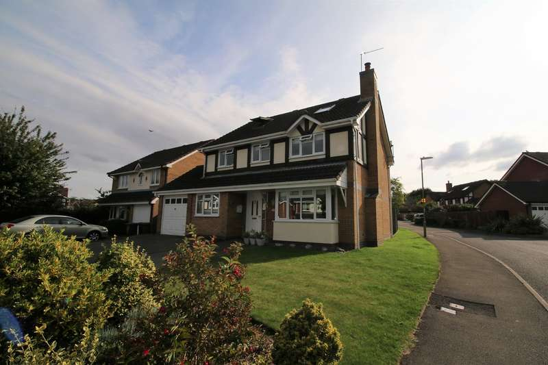 5 Bedrooms Detached House for sale in The Cornfields, Hatch Warren, Basingstoke, RG22