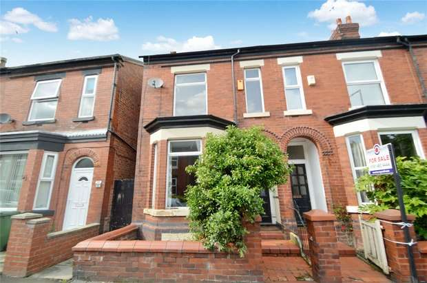 2 Bedrooms End Of Terrace House for sale in Winifred Road, Heaviley, Stockport, Cheshire