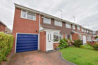 4 Bedrooms House for sale in Hereford Court, Kingston Park, Newcastle Upon Tyne, Tyne and Wear, NE3