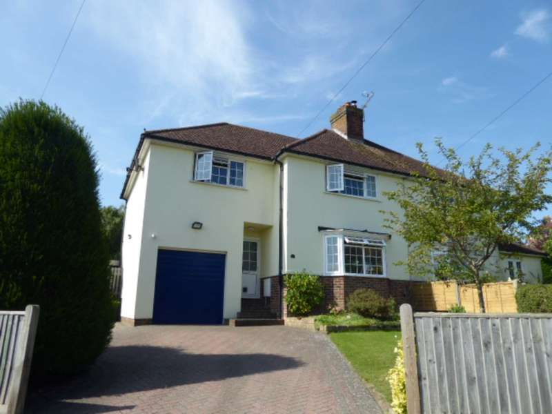 4 Bedrooms Semi Detached House for sale in Mount Harry Road, Lewes