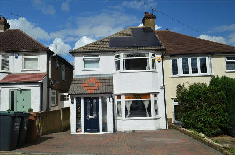 3 Bedrooms Semi Detached House for sale in Vivian Close, Watford, Hertfordshire, WD19