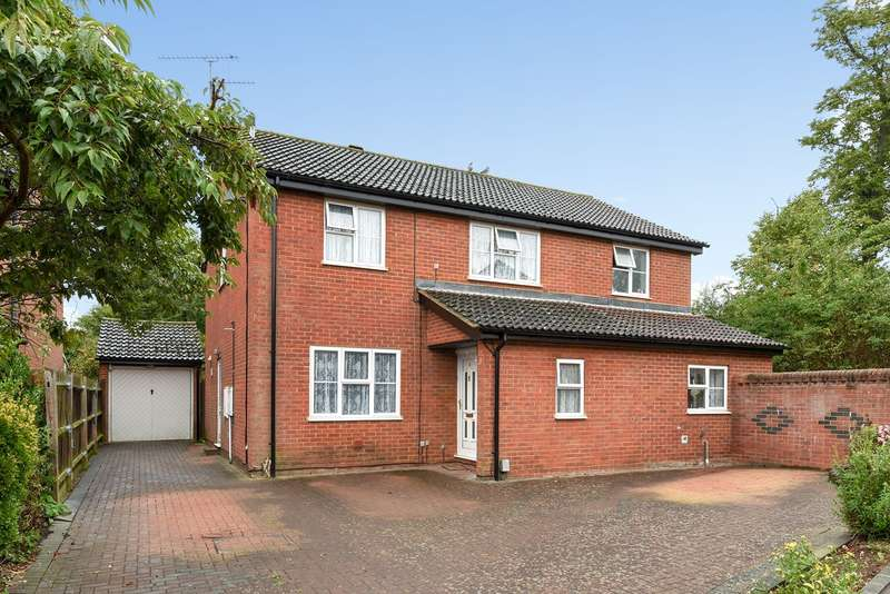 4 Bedrooms Detached House for sale in Armour Rise, Hitchin, SG4