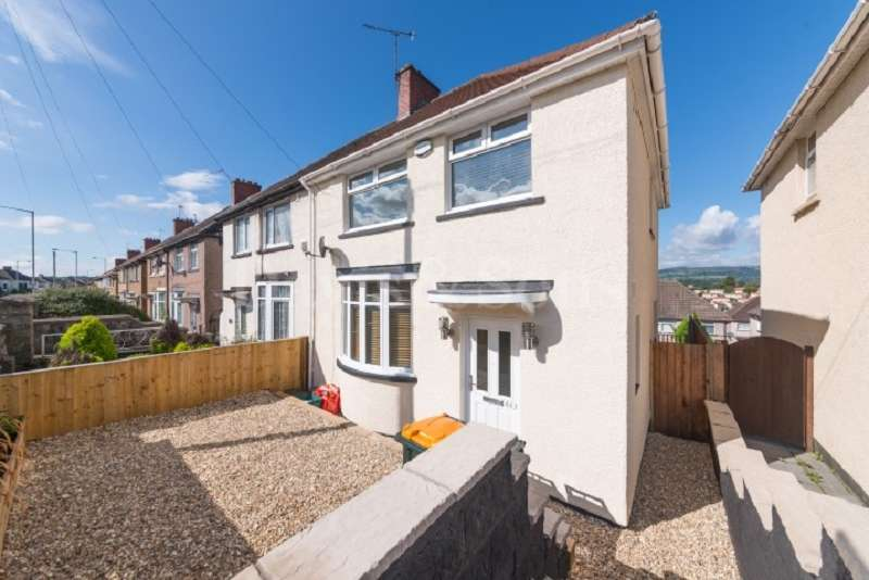 3 Bedrooms Semi Detached House for sale in Malpas Road, Newport, Gwent. NP20 6WD
