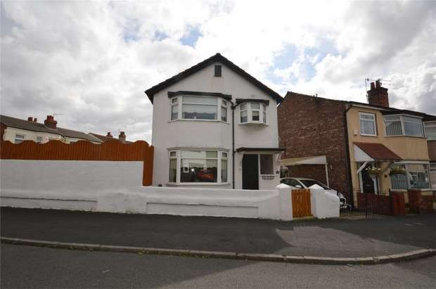 3 Bedrooms Detached House for sale in Rocklands Avenue, Bebington, Merseyside