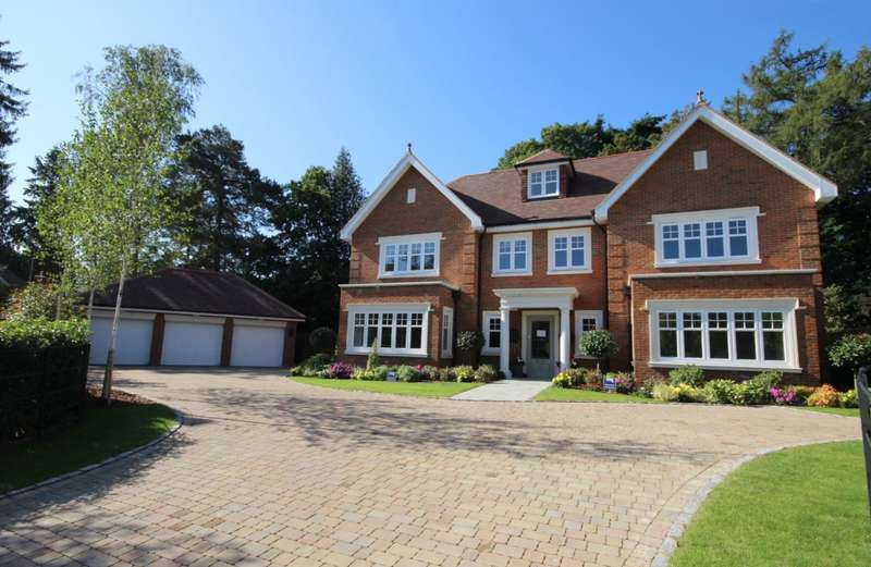 5 Bedrooms Detached House for sale in Peppard Lane, Henley-On-Thames, RG9