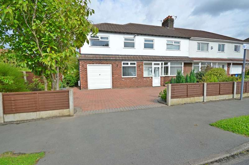 4 Bedrooms Semi Detached House for sale in Croft Road, Cheadle Hulme