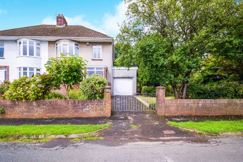 3 Bedrooms Semi Detached House for sale in Bradfield Avenue, Bridgend