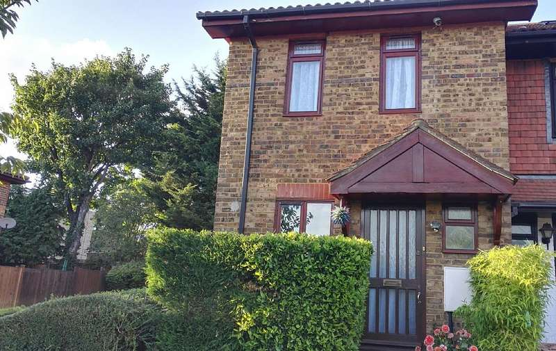 2 Bedrooms End Of Terrace House for sale in Alvia Gardens, Sutton, London, SM1 4RU