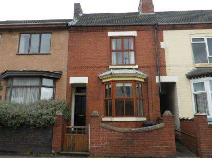 2 Bedrooms Terraced House for sale in Central Road, Hugglescote, Coalville