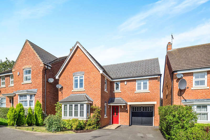 4 Bedrooms Detached House for sale in Pitchcombe Close, Redditch, B98