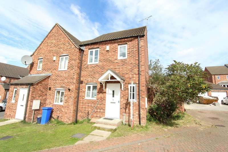 2 Bedrooms Semi Detached House for sale in Payler Close, Manor