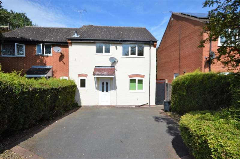 3 Bedrooms Semi Detached House for sale in Malham Way, Oadby, Leicester, LE2 4PS