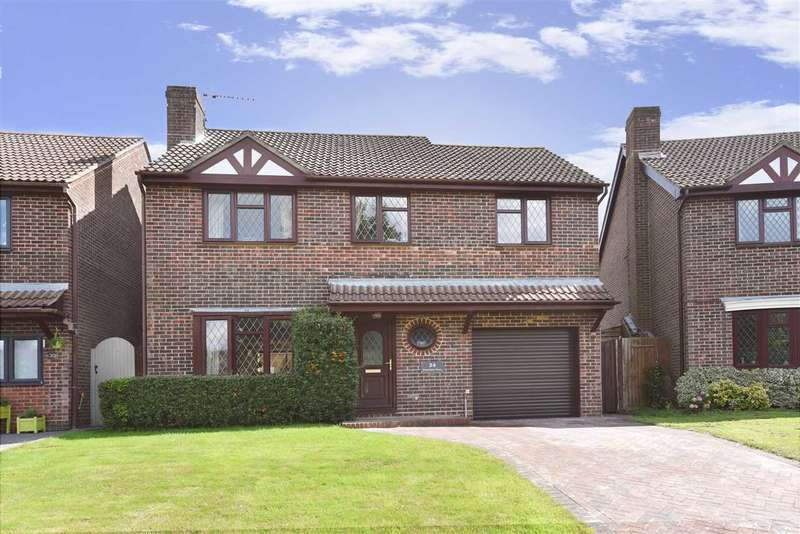 4 Bedrooms Detached House for sale in DOWNLAND CLOSE, LOCKS HEATH