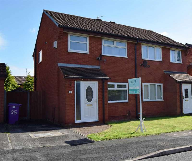 3 Bedrooms Semi Detached House for sale in Newbury Way, West Derby, Liverpool